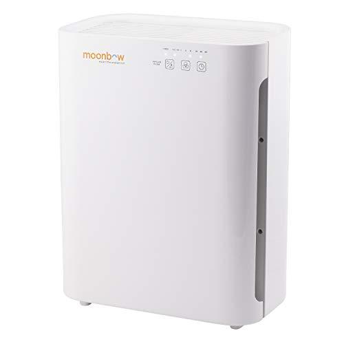 Hindware Moonbow AP-A8400UIN 55-Watt Air Purifier (White)