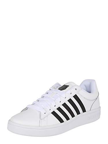 K-Swiss Damen Court Winston Sneaker, Weiß (White/Black 102), 39 EU