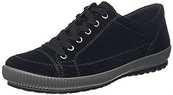 Legero TANARO-Sneaker, Damen Niedrig- Anderes Leder, Schwarz (Schwarz 00), 38 EU (5 UK)