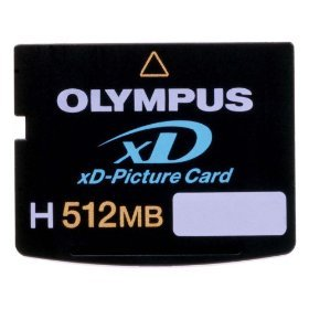 Olympus XD Speicherkarte H-Type 512MB - Xd Picture Card 512 Mb
