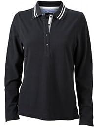 James & Nicholson Damen Poloshirt  Ladies' Long-Sleeve