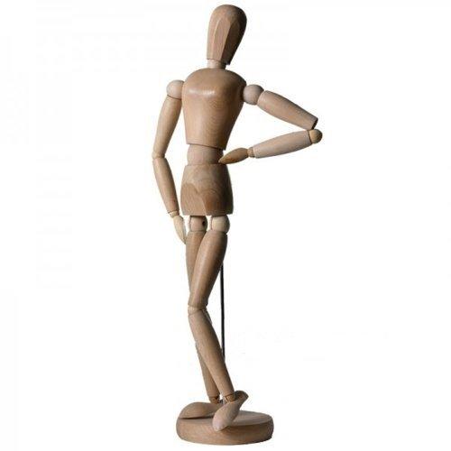 Modellpuppe/Gliederpuppe 30 cm weiblich