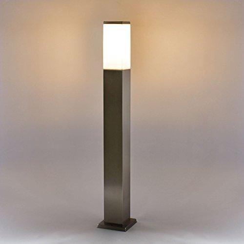 MAXKOMFORT® Wegeleuchte Außenleuchte Standleuchte E27 Lampe Standlampe Leuchte Außenlampe Außenstandlampe (446-800)