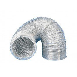 Gaine aluminium pour extracteur d'air Ø 100 mm x 10 m