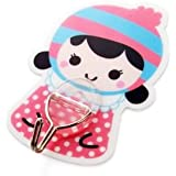 TBOP HOME Strong Cartoon Adhesive Kitchen Creative Bathroom Wall Without Trace Hook In Pink Color