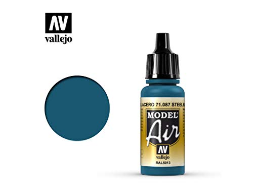 Farbe Vallejo Model Air 71087 Steel Blue (17ml) Blue Steel Wash