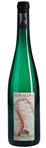 Rothlai Riesling Kabinett 2016 - Dr. Loosen | halbtrockener Weißwein | deutscher Wein von der Mosel | 1 x 0,75 Liter