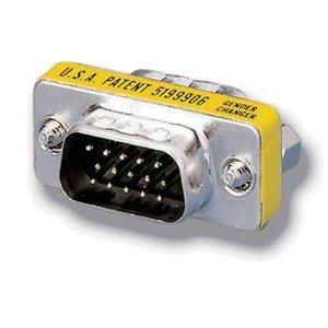 Db15-mini Gender Changer (equip Mini Gender Changer 15Pin VGA HD M/M)