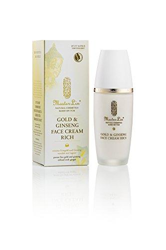 Master Lin Gold and Ginseng Face Cream Rich, 1er Pack (1 x 60 ml) - Ginseng-perle