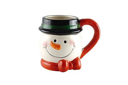 Kaffeetasse aus Keramik, Motiv: Frosty Snowman (Schokolade-schneemann Heißes -)