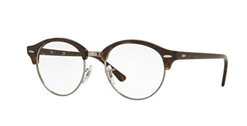Preisvergleich Produktbild Ray-Ban Unisex-Erwachsene Brillengestell RX4246V, Schwarz (Negro), 49