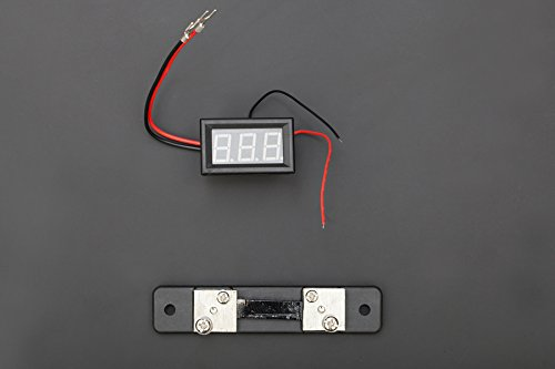 ZIYUN Red LED Current Meter 50A