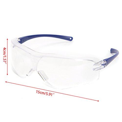 Kalttoy Arbeit Sicherheit Schutzbrille Spritzschutz Wind Staub Proof Brillen Eye Displayschutzfolie -