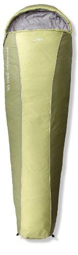 Gelert Freedom Sac de couchage Caliste Green/Sweet Pea Main gauche