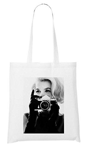 Monroe Taking Pictures Sac Blanc