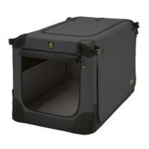 faltbare hundebox xxl Maelson Soft Kennel faltbare Hundebox -anthrazit- XXL 120 - (120 x 77 x 86 cm)