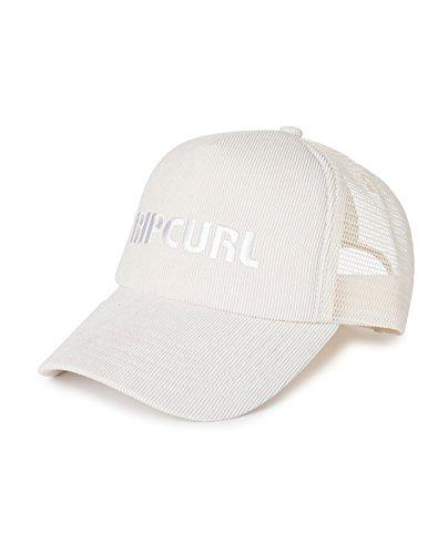 Cord-mesh Back Cap (Rip Curl Damen Pump Cord Cap Kappe, Bone, One Size)