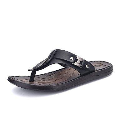 Athletic Shoes Primavera Autunno Coppia Scarpe da uomo Tulle casuale Tallone piano Nero / Blu Nero / Bianco R sandali US10 / EU43 / UK9 / CN44