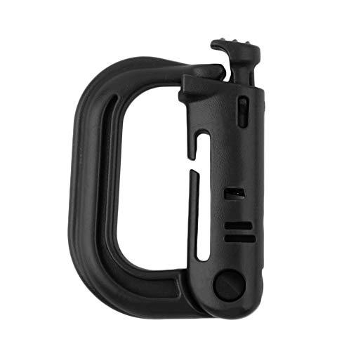 tyughjytu Outdoor Gear Tactique Sac à Dos Keychain D Carabiner-Ring Mousqueton Clip