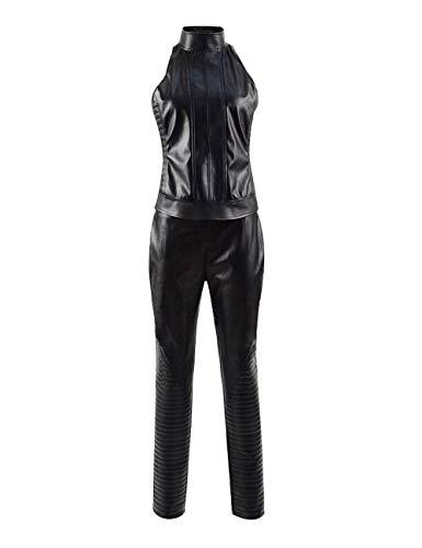 Jin Blue DFU geladen Angel Cosplay Anzüge Kostüm Body EIN Li Top Overall 3D printf oder Uns (M, Schwarz) (Blue Angel Kostüm)