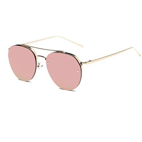SANFASHION Zeitliche Begrenzung Rabatte Vintage Unisex damen herrenr Student Große Box Designer Fashion Plain Glass Sonnenbrille