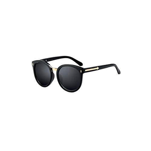 RJYJ Polarisierte Sonnenbrille Der Frauen Anti-UVB, UVA, Andere, Strahlenschutz, UV-Schutz, Harzlinsen (Color : Black)
