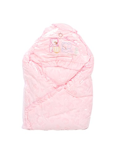 Mee Mee Baby Wrapper Blanket with Hood (Pink)  available at amazon for Rs.899