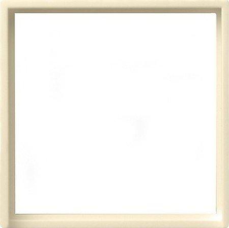 Gira Adapterrahmen 028201 50x50 Quad System 55 cremeweiss, Cremefarben