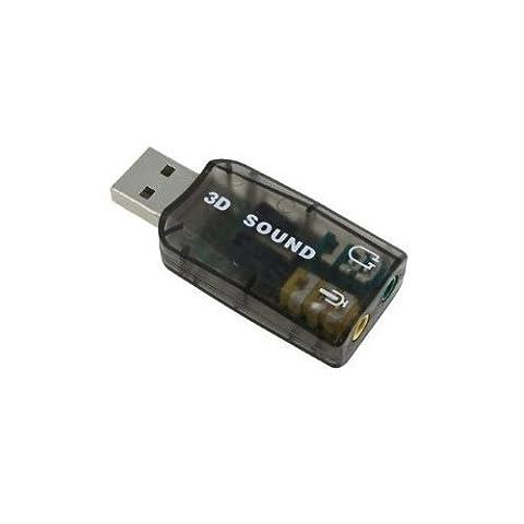 SODIAL(TM) Instantan¨¦ment externe Adaptateur USB 5.1 pour 3D carte son