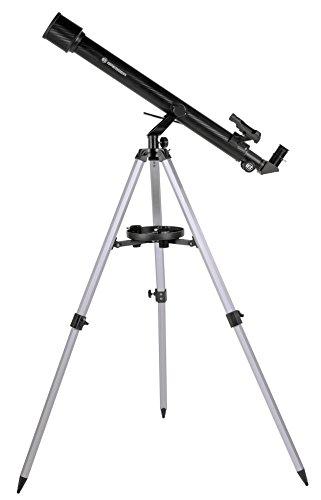 Bresser Refraktor Teleskop Stellar 60/800 mit Smartphone Kamera Adapter