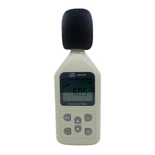 Kostenloser Versand GM1358 Digital Sound Noise Level Meter Decibel Druck 30-130dB Noise Level Meter Dezibel Meter Schallpegel Meter