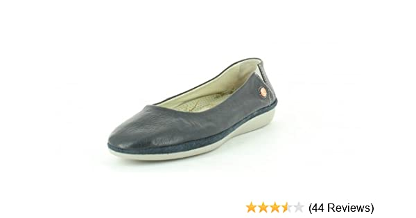 aaa97048fc389 Softinos Women's Dalila cashmere Ballet Flats blue Size: 8: Amazon ...
