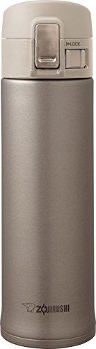 ZOJIRUSHI Edelstahl Thermobecher, 480ml, edelstahl, champagnerfarben / goldfarben, 6.7 x 6.7 x 23 cm Kaffee Travel Mug Gold