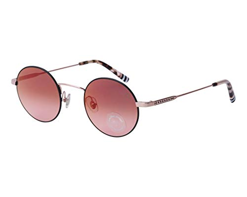 Etnia Barcelona Sonnenbrillen (LAPA PKBK) gold-kupfer - matt schwarz - pflaumenfarben verlaufend mit verspiegelt effekt
