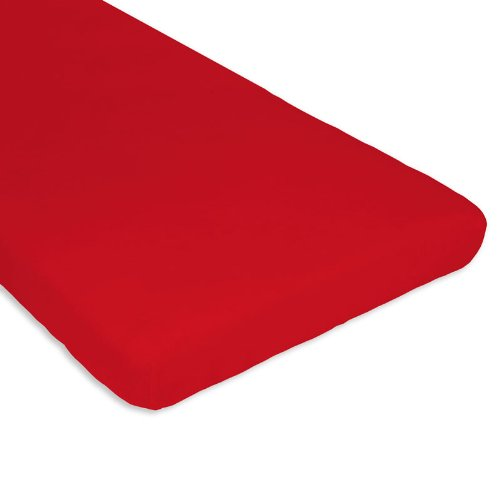 Imagen 2 de Bolín Bolón 1430701017860 - Bajera de rizo algodón para cuna, color rojo