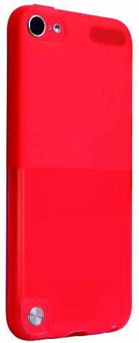Ozaki O!Coat Wardrobe für Apple iPod touch 5G in rot [Dünn & leicht | Inkl. Displayschutzfolie | Kompatibel mit Handschlaufe] - OC610RD - 5 Handschlaufe Ipod Touch