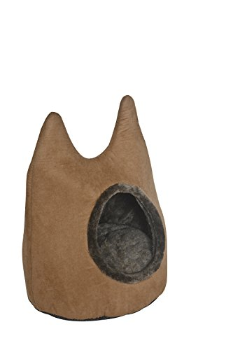 Freedog FD1000469 - Cama iglú para gato, color marrón