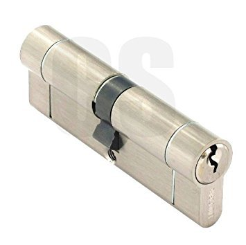 SECURIT – ANTI SNAP/BUMP/TALADRO/PICK EURO CILINDRO NIQUEL CERRADURA DE LA PUERTA 45 MM X 45 MM S2071