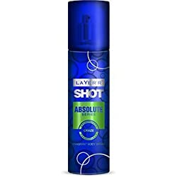 Layer Shot Absolute Series Craze Body Spray, 135ml