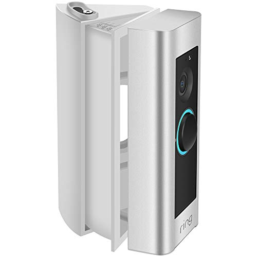 KIMILAR Ring Video Doorbell Pro Adjustable Angle Mount Bracket Wedge Kit White