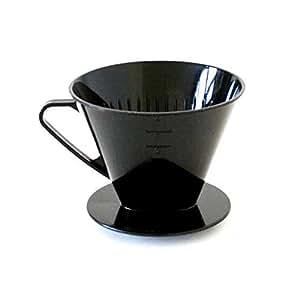 AXENTIA - Filtre à café pour 4 tasses - fabriqué en Allemagne - plastique