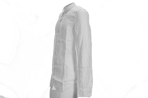 Timberland Herren Businesshemd LS Slim Rattle Rvr O White