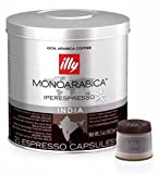 Illy Espresso MIE Kapseln Iperespresso Monoarabica India 6 x 21 St. = 126 St.