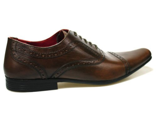 Red Tape Branston Brown Men's Leather Shoes