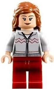 LEGO Harry Potter: Hermione (Gris Chemise, Rouge Pantalon) Mini-Figurine
