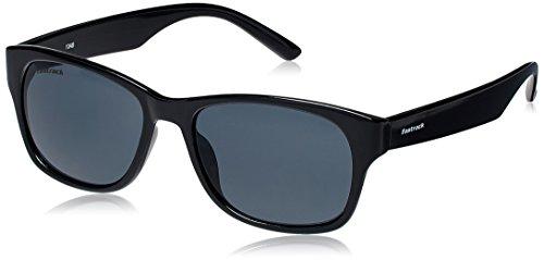 Fastrack Gradient Wayfarer unisex Sunglasses (PC001BK19|53 millimeters|Black)
