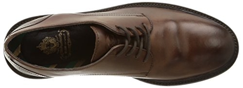 Base London Zanetti, Derby homme Marron (Washed Brown)