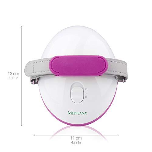 Medisana AC 850 Masajeador para celulitis para una piel más firme,  auto- masaje con 6 rodillos de masaje rotativos y 2 intensidades de masaje
