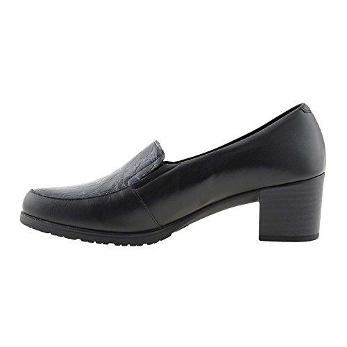 PITILLOS Chaussures en Cuir Noir