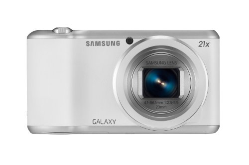 Samsung Galaxy Camera 2, smart camera, 16.3 megapixel, display HD touch 4.8 pollici, bianco